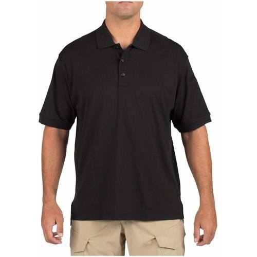 5.11 Tactical Tactical Polo Short Sleeve Shirt, Black