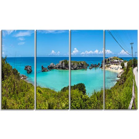 True Blunt Tobacco Wraps (Design Art 'Tobacco Bay Panorama' 4 Piece Photographic Print on Wrapped Canvas)