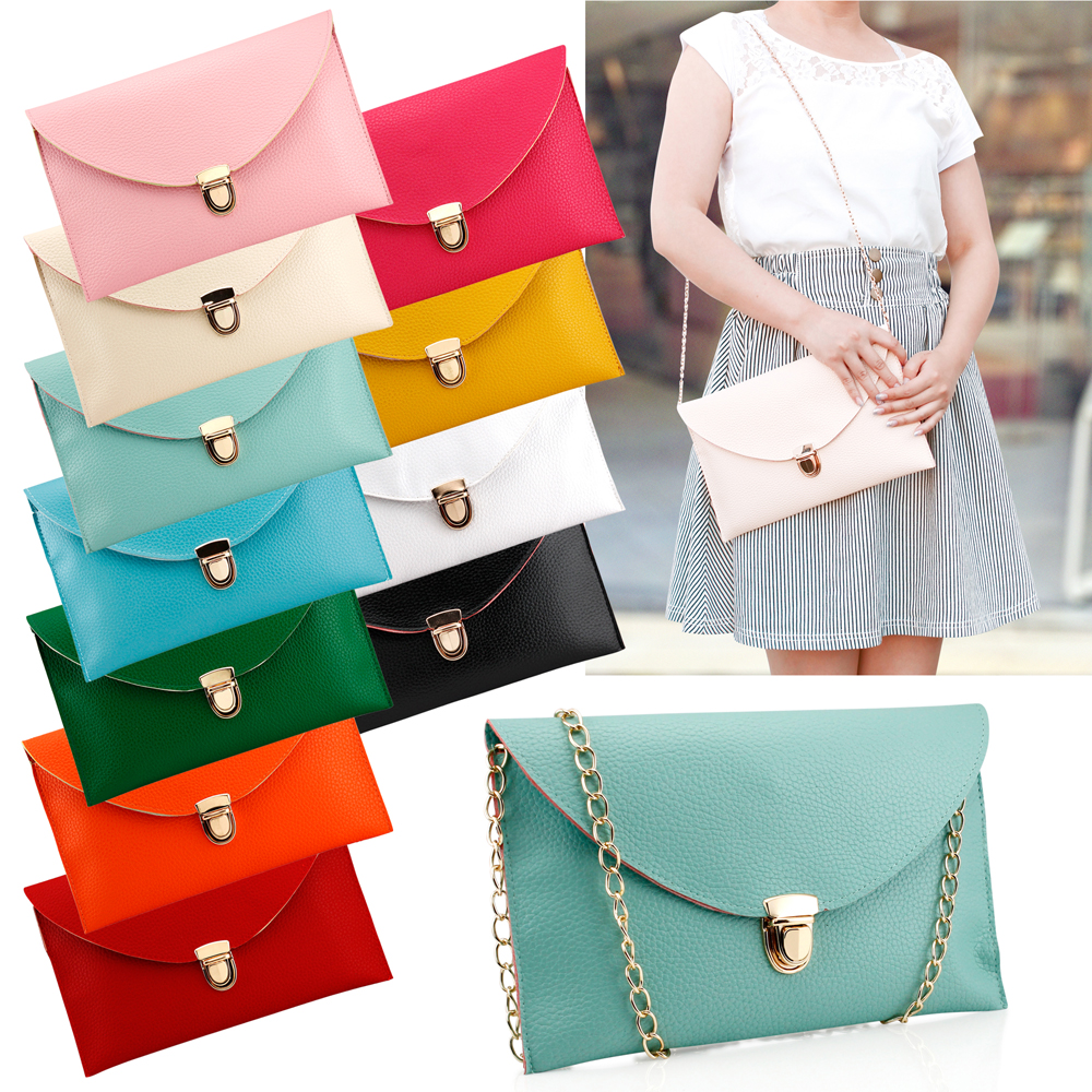 Fashion Women Handbag Shoulder Bags Envelope Clutch Crossbody Satchel Purse Leather Lady Messenger Hobo Bag