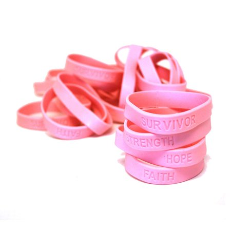 Breast Cancer Awareness Rubber - Breast Cancer Fine Jewelry
