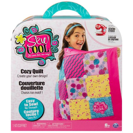 Sew Cool, Cozy Quilt, Fabric Kit