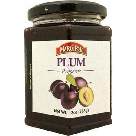 Jam Preserves (Plum Jam Preserve (MarcoPolo) 13 oz)
