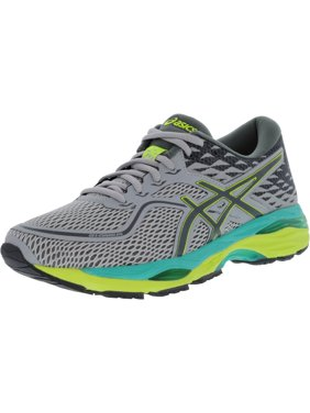 82a08eb725 Product Image Asics Women s Gel-Cumulus 19 Mid Grey   Carbon Safety Yellow  Ankle-High Running
