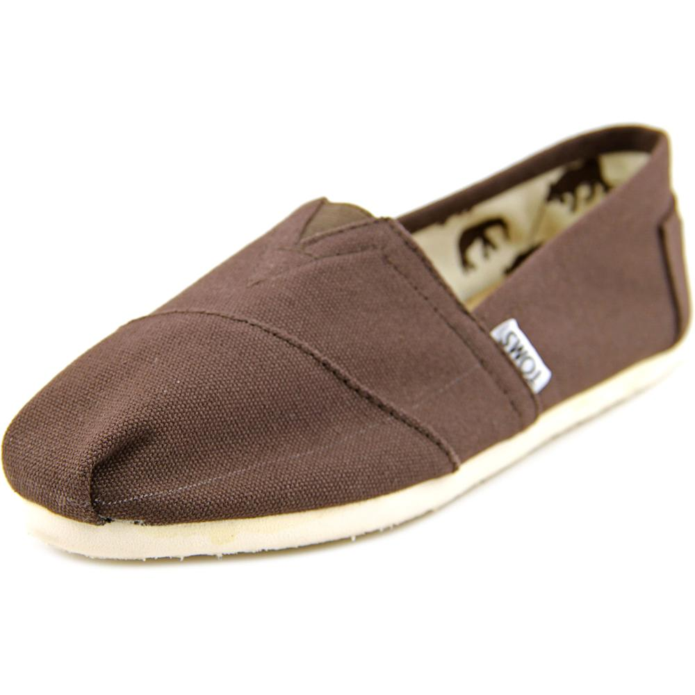 Toms Classics   Round Toe Canvas  Sneakers
