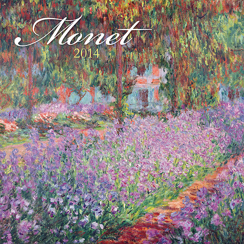 Avalanche Monet 2014 Wall Calendar