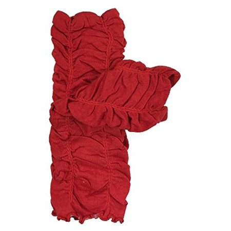 - ALLYDREW Solid Baby Leg Warmer & Solid Toddler Leg Warmer for Boys & Girls, Scrunch Red