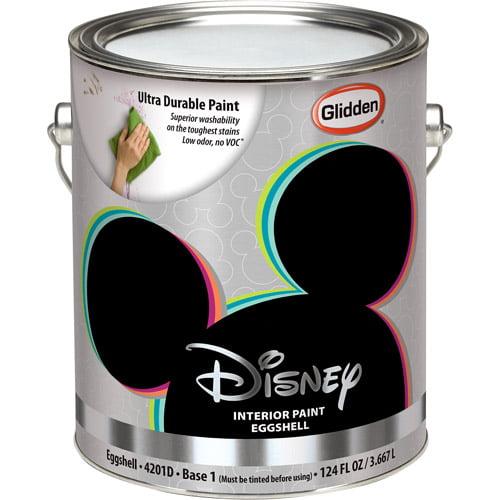 Disney Interior Eggshell Paint, Light Base, 1 Gallon