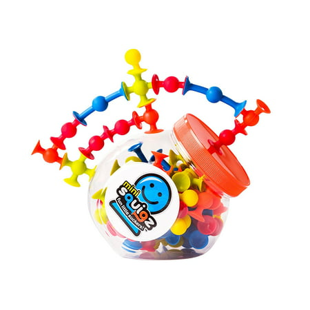 Mini Squigz, Miniature version of the original Squigz suction construction set By Fat Brain Toys - Squigz Toys
