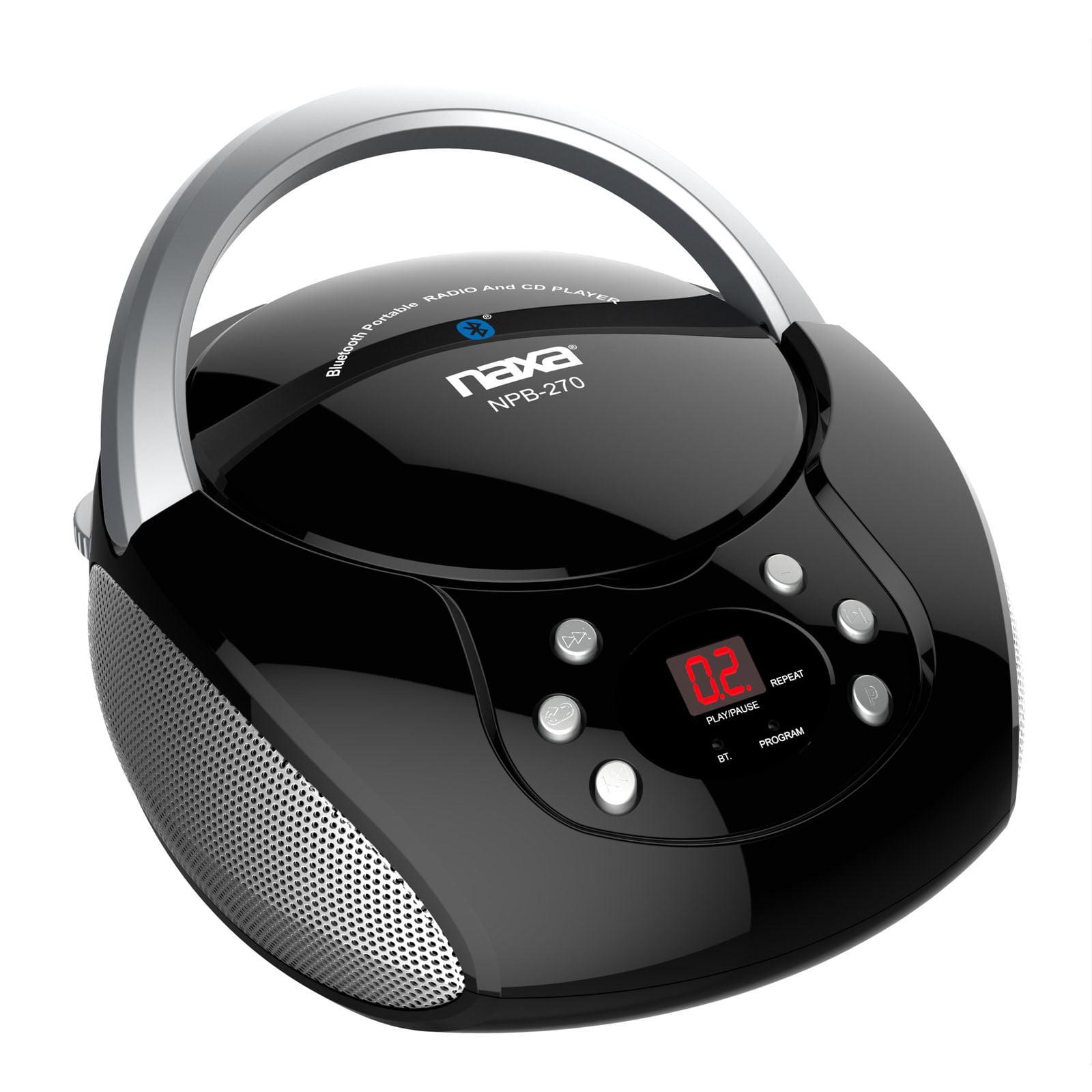 Naxa BT Streaming CD/CD-R/RW Boom Box