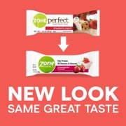 ZonePerfect Protein Bars, Strawberry Yogurt, 14g of Protein, Nutrition Bars With Vitamins & Minerals, Great Taste Guaranteed, 1 Bar
