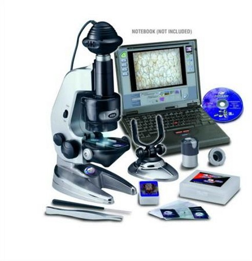 4-in-1 Petit Electronic Microscope by EastColight