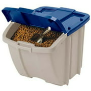 Suncast 72 Quart Food Storage Bin