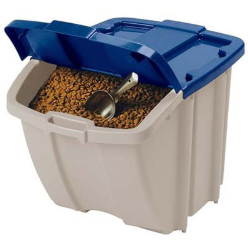 Suncast 72-Quart Resin Food Storage Hopper Bin, BH181812P