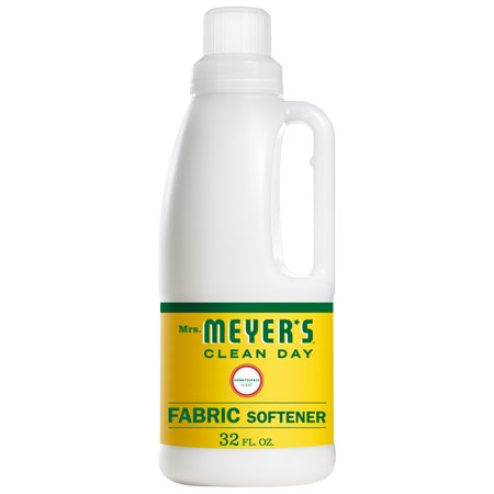 Mrs. Meyer's Clean Day Liquid Fabric Softener, Honeysuckle Scent, 32 ounce bottle (Meter Softener)