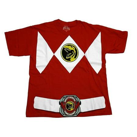 Power Rangers Red Ranger Costume Toddler/Youth T-Shirt