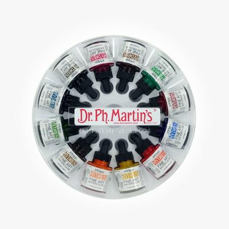 Dr. Ph. Martin's Hydrus Fine Art Watercolor, 1.0 oz, Set of 12 (Set 2)