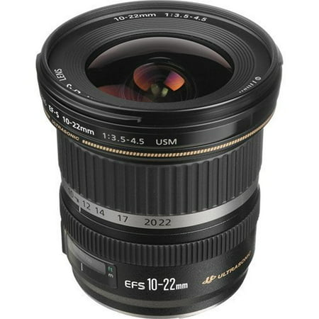 Canon EF-S 10-22mm f/3.5-4.5 USM SLR Lens for EOS Digital SLRs International Version (No warranty)