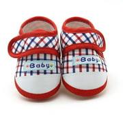 Womail Newborn Infant Baby Boys Girls Soft Sole Prewalker Warm Casual Flats Shoes