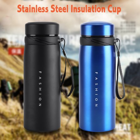 Greensen 1Pc 900ml Stainless Steel Water Thermal Cup Tea Coffee Travel Drink Bottle Children Adult Use,Water Bottle, Stainless Steel Water Bottle - image 9 of 9
