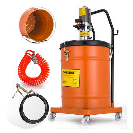 VEVOR 10 Gallon Air Operated Pneumatic Compressed Gun Lubrication Grease Pump 50:1 Pressure (Central Pneumatic 21 Gallon Air Compressor Pressure Switch)