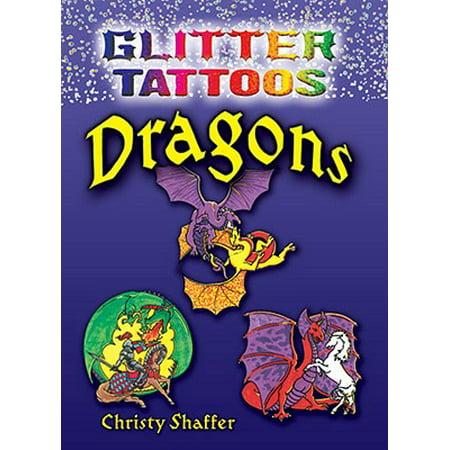 Glitter Tattoos Dragons