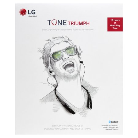LG TONE PRO HBS-780 Bluetooth Wireless Stereo Headset - (Lg Tone Pro Stereo Bluetooth Headset White)