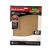 ALI INDUSTRIES 4440 4PK 9x11 60Grit Sandpaper