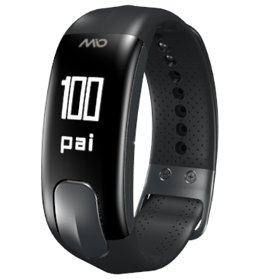 "Mio Slice Activity Heart Rate Monitor - Small 5.5"" to 6.75"" / Black"