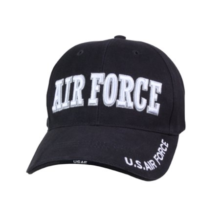 Airforce Navy Blue Deluxe Low Profile Baseball Cap Cloth Low Profile Cap