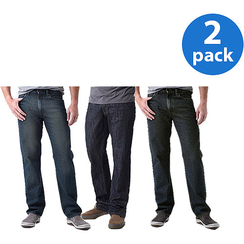 Signature by Levi Strauss & Co. Men's Jeans, 2 Pack