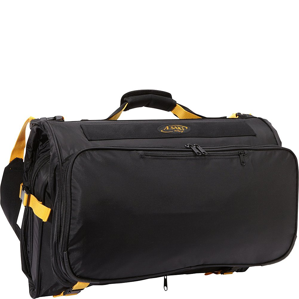 A.Saks Deluxe Expandable Tri Fold Carry On Garment Bag