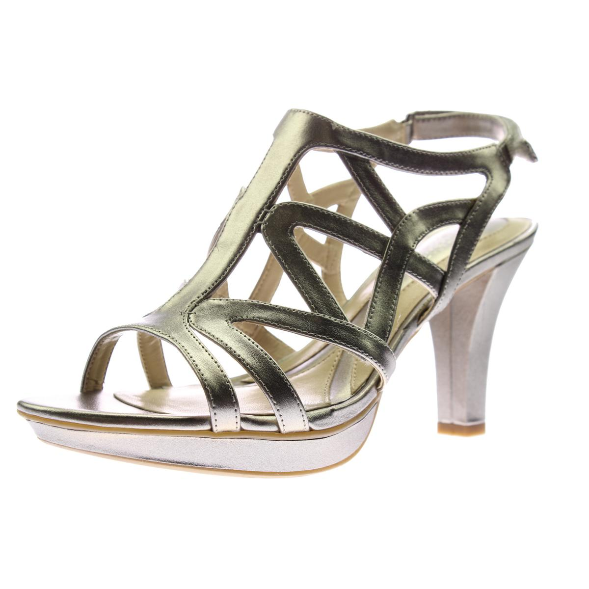 Naturalizer Womens Danya Faux Leather Dress Evening Sandals