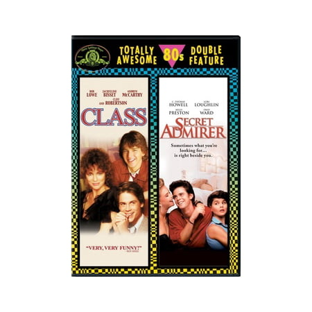 Totally Awesome 80s Double Feature: Class / Secret Admirer - 80s Movie Characters Halloween