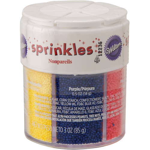Wilton Sprinkles, Brights 3 oz. 710-4125