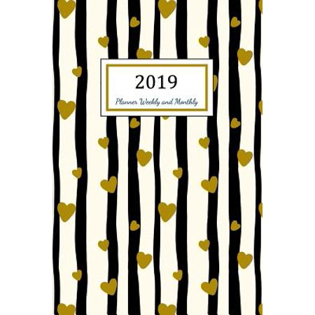 2019 Planner Weekly and Monthly: A Year - 365 Daily - 52 Week Journal Planner Calendar Schedule Organizer Appointment Notebook, Monthly Planner, to Do List, Action Day Passion Goal Setting Happiness G (13 Days Of Halloween Schedule 2017)