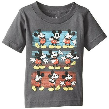 Disney Boy's What A Mouse, Charcoal, 4T (Disney Direct)