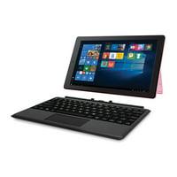 "RCA Cambio 10.1"" 2 in 1 32GB Tablet with Windows 10, Intel Atom Z8350 2GB RAM, Includes Keyboard"