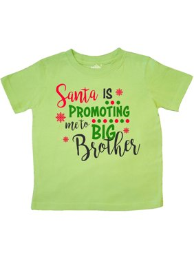 62a70e122 Product Image Santa is promoting me to Big Brother Toddler T-Shirt