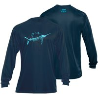 Flying Fisherman Sailfish Long Sleeve Performance Tee (Two Colors Available)
