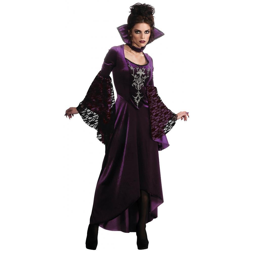 Violet Vamp Adult Halloween Costume