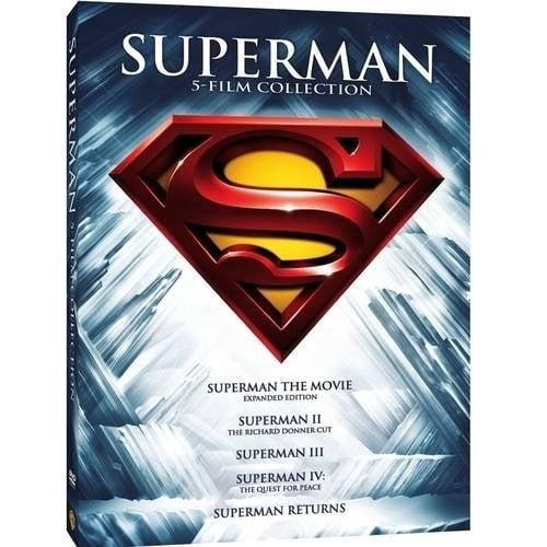 Superman 5 Film Collection (DVD + Digital) (Walmart Exclusive)