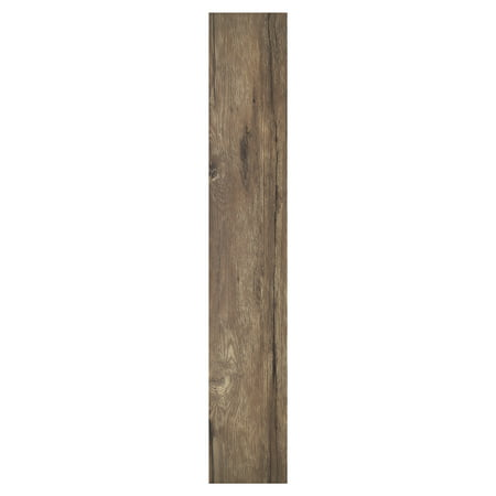 Green Floor Hardwood Flooring (Achim Nexus Saddle 6x36 Self Adhesive Vinyl Floor Planks - 10 Planks/15 sq. ft. )