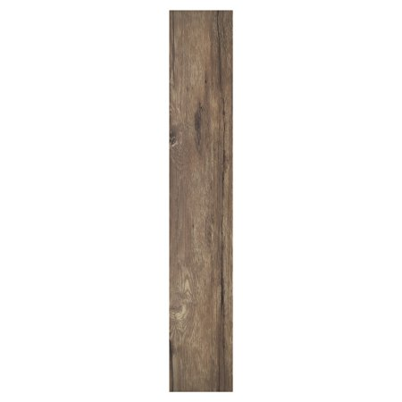 Achim Nexus Saddle 6x36 Self Adhesive Vinyl Floor Planks - 10 Planks/15 sq. (Walnut Laminate Flooring)