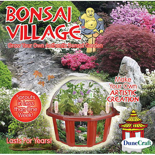 DuneCraft Bonsai Village - Garden Kit