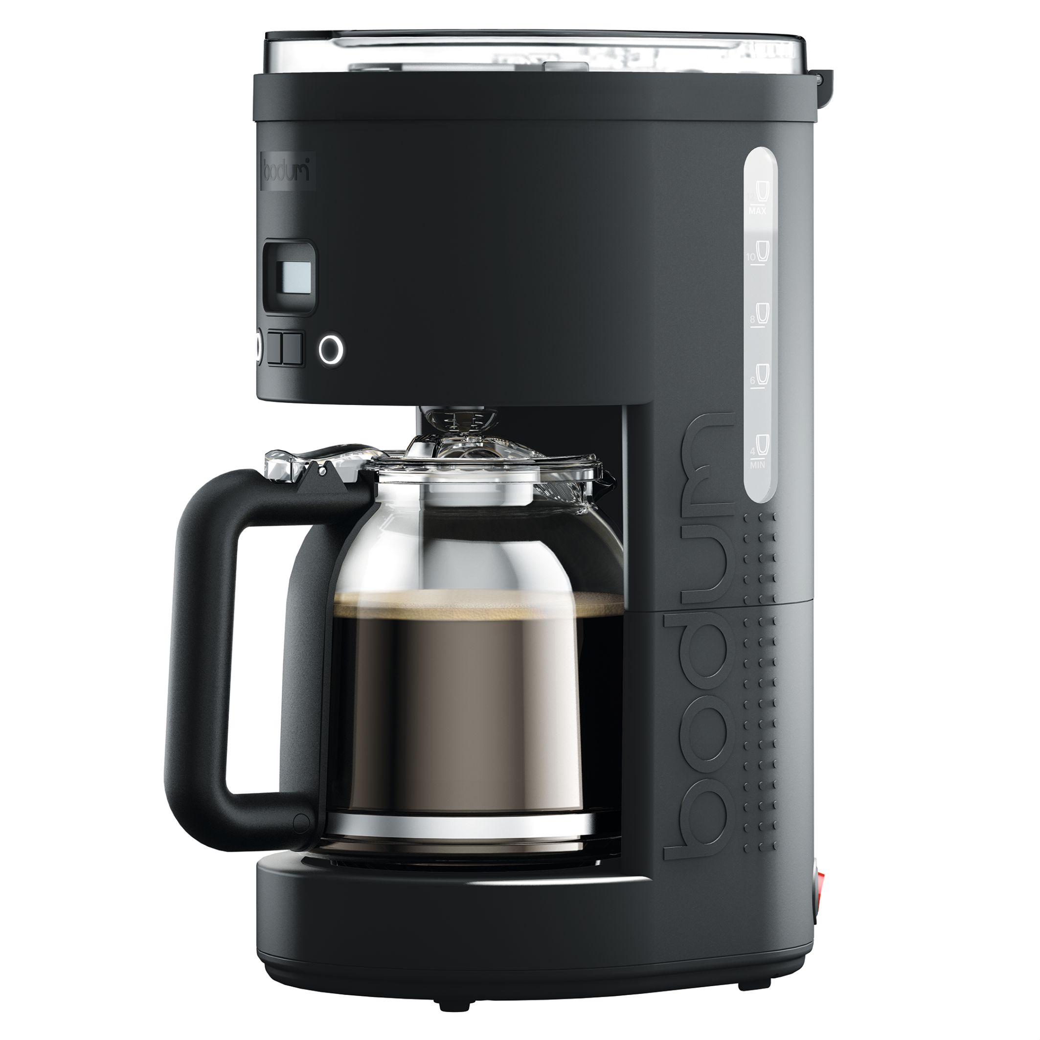 Bodum BISTRO Programmable Coffee Maker, 1.5 L, 51 Ounce (12 cup), Black