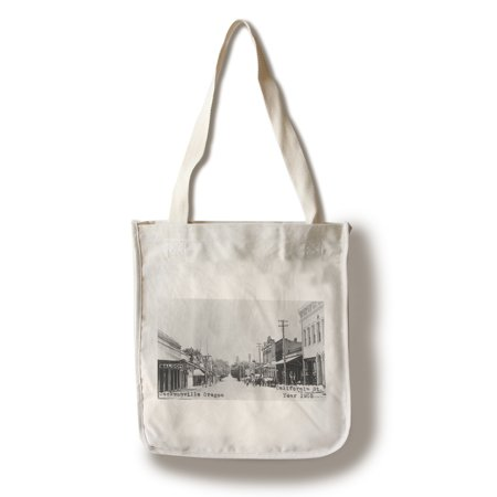 Jacksonville, Oregon - California Street Scene (100% Cotton Tote Bag - Reusable)
