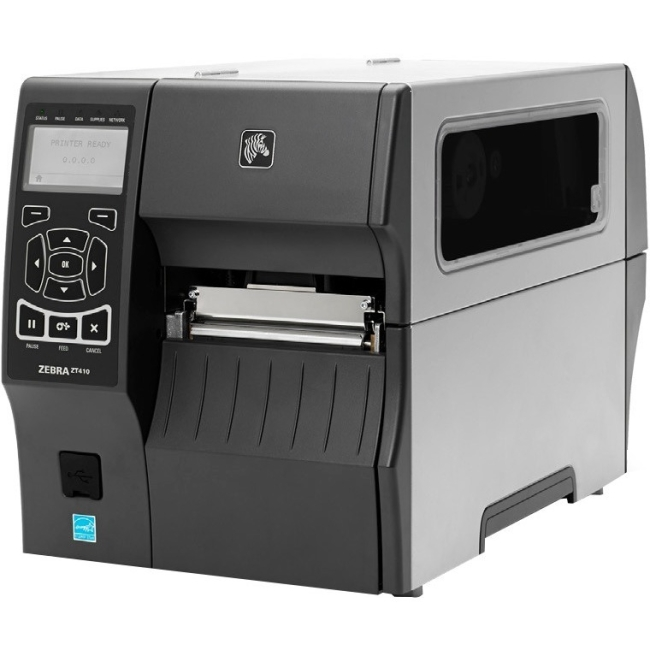 Zebra ZT410 Direct Thermal/Thermal Transfer Monochrome Label Printer - 600 dpi