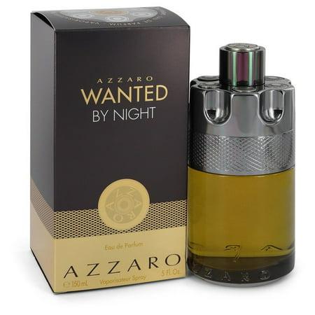 Azzaro Wanted By Night by Azzaro Eau De Parfum Spray 5 oz for Men Tova Nights Perfume
