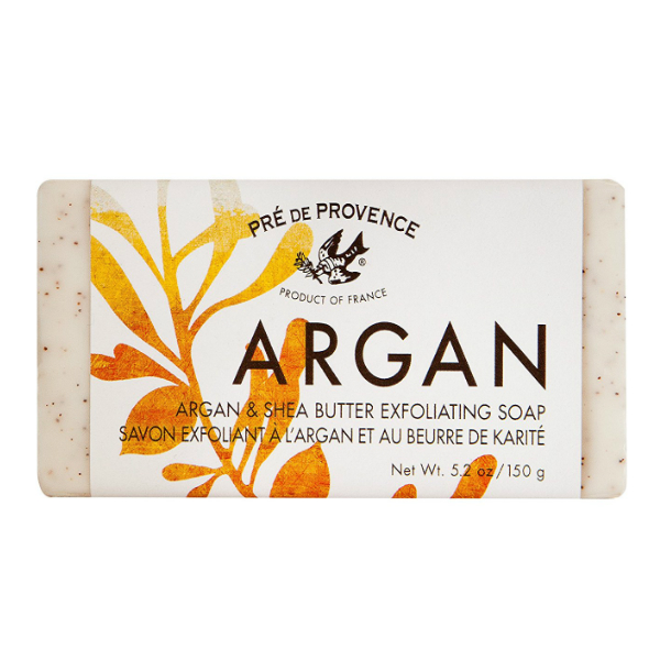 Pre de Provence Soap Argan & Shea Butter Exfoliating 5.2 oz