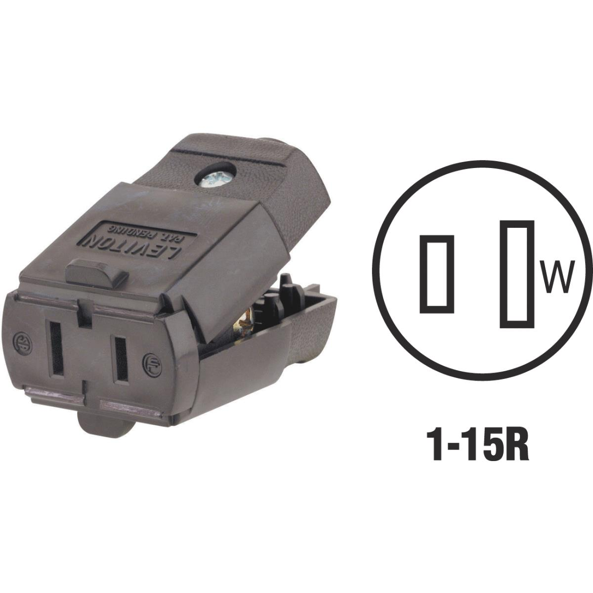 Leviton Hinged Cord Connector